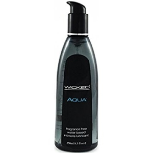 Wicked Aqua Water Based Lubricant